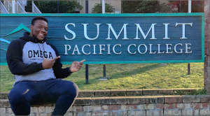 Alex Forde at Summit Pacific College