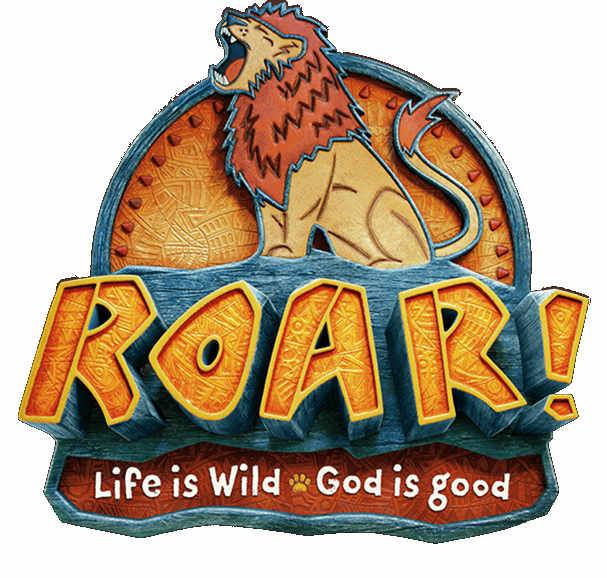 Roar!  Life is wild.  God is good.